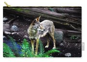 Coyote In Mid Stream Carry-all Pouch