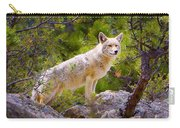 Coyote In The Rocky Mountain National Park Carry-all Pouch