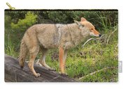 Coyote On A Log Closeup Carry-all Pouch