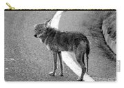 Coyote On The Road Carry-all Pouch