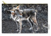 Coyote Waits Carry-all Pouch