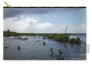Ominous Clouds Over A Cozumel Mexico Swamp  Carry-all Pouch