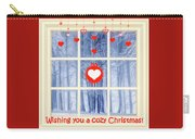 Cozy Christmas Card Carry-all Pouch