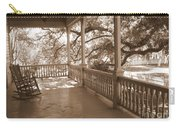 Cozy Southern Porch Carry-all Pouch by Carol Groenen