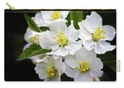 Crab Apple Blossom Carry-all Pouch