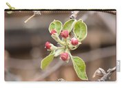 Crab Apple Buds Carry-all Pouch