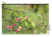 Crab Apple Fruit Carry-all Pouch