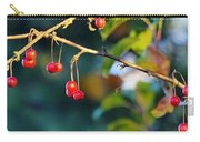 Crab Apples Branches P 6543 Carry-all Pouch