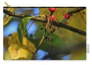 Crab Apples Leaves 6498 Carry-all Pouch
