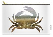 Crab Beach Carry-all Pouch by Michael Colgate