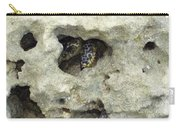 Crab Hiding In A Rock On The Seashore Carry-all Pouch