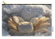 Crab On The Beach Carry-all Pouch