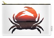 Crab Sunset Carry-all Pouch