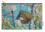 Crabapple Chickadees Carry-all Pouch