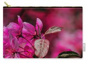 Crabapple Tree Blossoms Carry-all Pouch