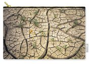 317805-cracked Mud Patterns  Carry-all Pouch