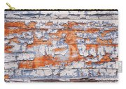 Cracked Wood Paint Carry-all Pouch