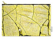 Cracked Yellow Paint Carry-all Pouch