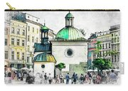 Cracow Art 3 Carry-all Pouch