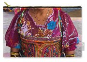 Craft Vendor In Panama City, Panama Carry-all Pouch