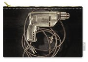 Craftsman Drill Motor Bs On Black Carry-all Pouch