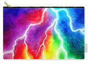 Rainbow Color Lightning Carry-all Pouch
