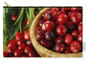Cranberries In Bowls Carry-all Pouch by Elena Elisseeva