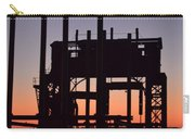 Crane At Sunset Carry-all Pouch