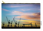 Crane You Neck To The Sunrise. Hamburg, Germany. Carry-all Pouch