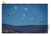 Cranes Across Colorado Blue Carry-all Pouch