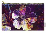 Cranesbill Flower Close Bee Insect  Carry-all Pouch