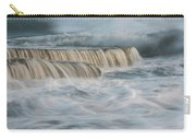 Crashing Sea Waves And Small Waterfalls Carry-all Pouch