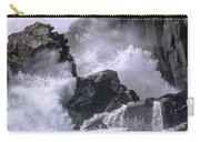 Crashing Wave At Quoddy Carry-all Pouch