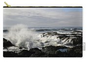 Crashing Waves At Cape Perpetua Carry-all Pouch