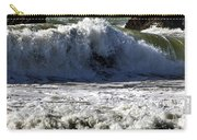 Crashing Waves At Goat Rock Carry-all Pouch
