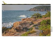 Crashing Waves At Otter Cliff Carry-all Pouch
