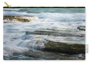 Crashing Waves On Sea Rocks Carry-all Pouch