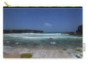 Crashing Waves Rolling Ashore On The Island Of Aruba Carry-all Pouch