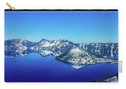 Crater Lake Blue Carry-all Pouch