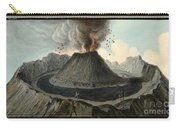 Crater Of Mount Vesuvius, Before 1767 Carry-all Pouch