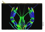 Crawfish In The Dark - Bluegreen Carry-all Pouch