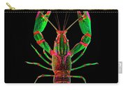 Crawfish In The Dark - Greenred Carry-all Pouch