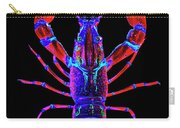Crawfish In The Dark-  Redblue Carry-all Pouch
