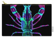 Crawfish In The Dark - Rosegreen Carry-all Pouch