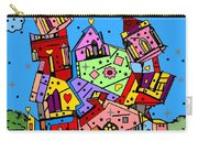 Crazy Building Popart By Nico Bielow Carry-all Pouch