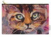Crazy Cat Tabby  Carry-all Pouch