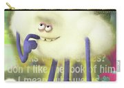 Crazy Cloud Guy. Carry-all Pouch