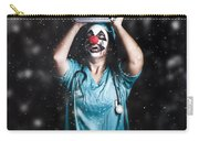 Crazy Doctor Clown Laughing In Rain Carry-all Pouch