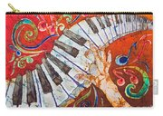 Crazy Fingers - Piano Keyboard  Carry-all Pouch