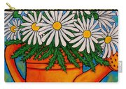 Crazy For Daisies Carry-all Pouch